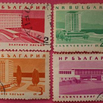 Марки Болгарии. Курорты Болгарии.