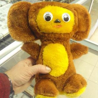 игрушка мягкая детская ссср чебурашка