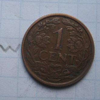 НИДЕРЛАНДЫ, 1 цент 1938 г.