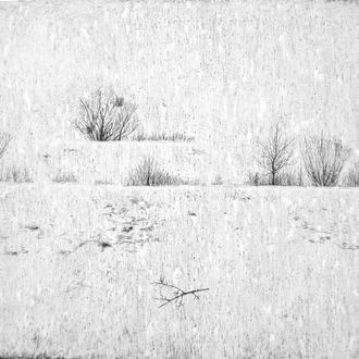 """Авторская картина """"Состояние зимы"""", Мария Козыренко, 2019"""