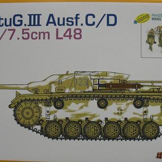 Сборная модель танка Stug III Ausf.C/D 1:35 Dragon