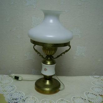 Настольная лампа, светильник, плафон  СССР