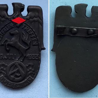 знак SA Westfalen-Treffen Dortmund 8.-9.Juli 1933г. Германия Третий Рейх