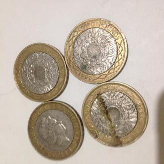 2 фунта