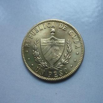 Куба 1 песо 1984