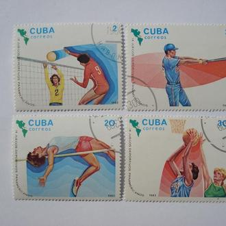 IX юниорские игры.Куба.1983 год.Сохран.