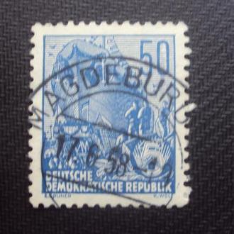 ГДР 1955 гаш.