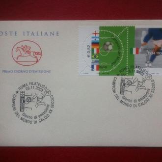 футбол ЧМ 2002 Италия (участник) КПД**