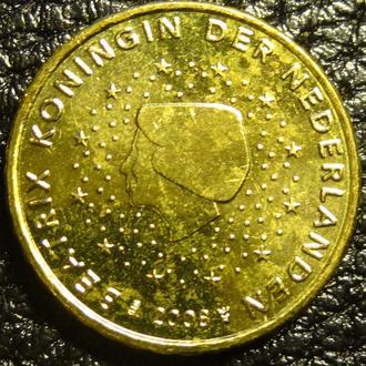 10 євроцентів 2008 Нідерланди UNC рідкісна