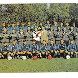 Календарик 1997 Футбол, Днепр, спорт, Оранта