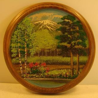 Картина.Натуральный камень. Уральские самоцветы № 789