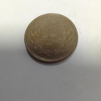 ЯПОНИЯ, 10 иен 1986