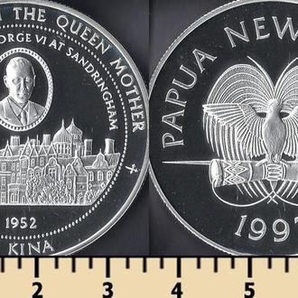 ПАПУА-НОВАЯ ГВИНЕЯ 5 КИНА 1997