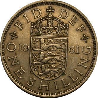 Великобританія 1 шилінг 1961   A123