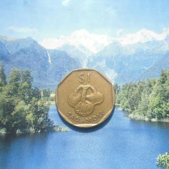 о-ров Фиджи 1доллар 1995г