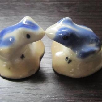 Статуэтки Жабы, лягушки фарфор СССР