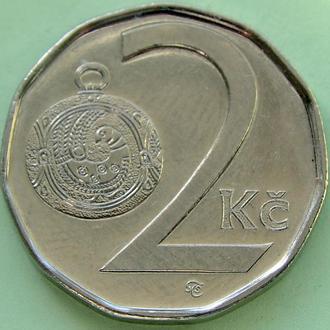 (А) Чехия 2 кроны, 2010