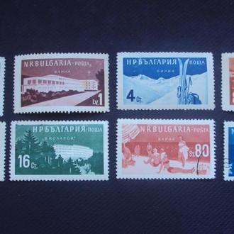 Болгария 1958г. гаш. полная.