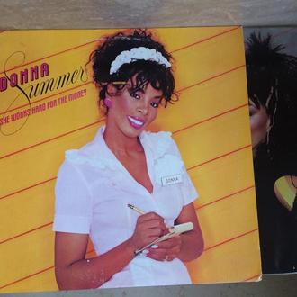 DONNA SUMMER : She Works Hard For The Money ( USA )LP