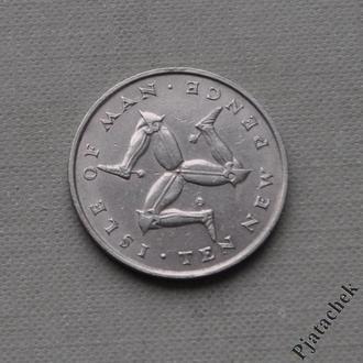 Мэн 10 пенсов 1971