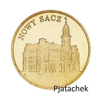 Польша 2 злотых 2006 г Новый Санч