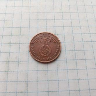 1 рейхспфенинг 1936 Редкий