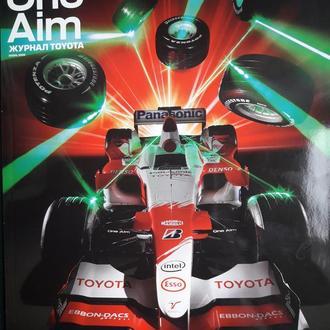 Журнал TOYOTA F1 ,,Исключительная гармония,,Осень 2006