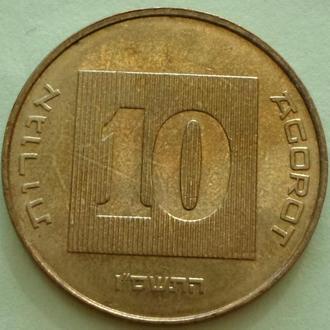 (А) Израиль 10 агорот 2006