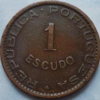 Мозамбик 1 эскудо 1974