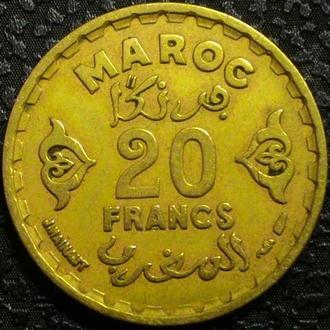 Марокко 20 франков 1371 СОСТОЯНИЕ!