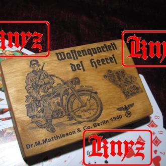 "Футляр для игральных карт "" für die Wehrmaht "" (вариант №2)"