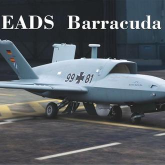 """AVIS - 72029 - Беспилотный летательный аппарат EADS """"Barracuda"""" - 1:72"""