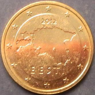 2 євроценти 2012 Естонія UNC