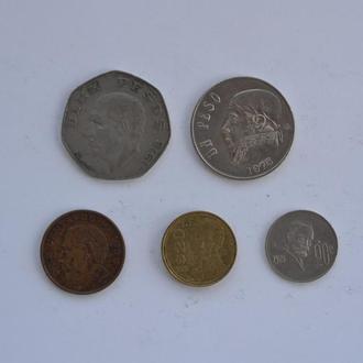 Набор монет Мексики №2