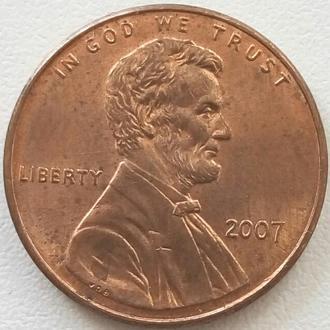 (А) США 1 цент 2007