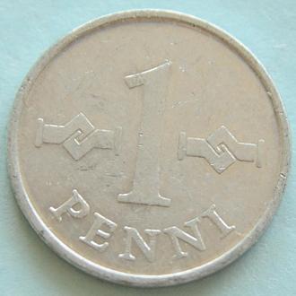 (А) Финляндия 1 пенни, 1970