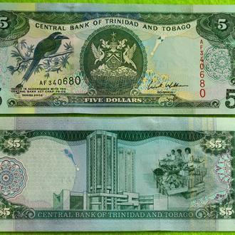 Тринидад и Тобаго, 5 долларов  2002  UNC