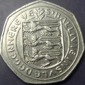 50 пенсів Гернсі 1981 рідкісна