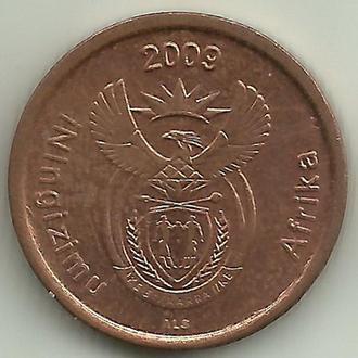 Южная Африка (ЮАР) 5 центов 2009 aUNC