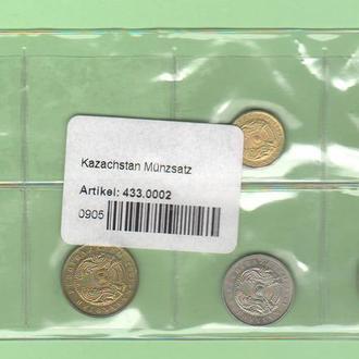 КАЗАХСТАН набор набір монет UNC