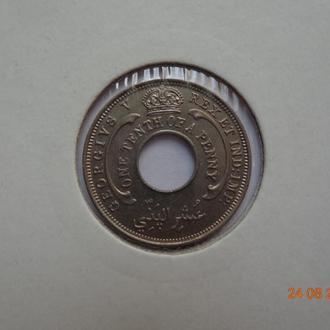 Британская Западная Африка 1/10 пенни 1931 George V СУПЕР состояние редкая