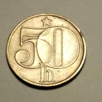 50 геллеров 1984 года Чехословакия !!! а2