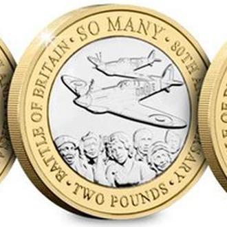 Набор 3 монеты Джерси остров 2 фунта 2020