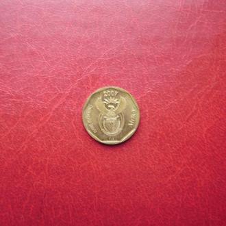 ЮАР 20 центов 2007