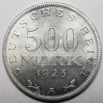 Германия 500 марок 1923 год  СОХРАН!!!