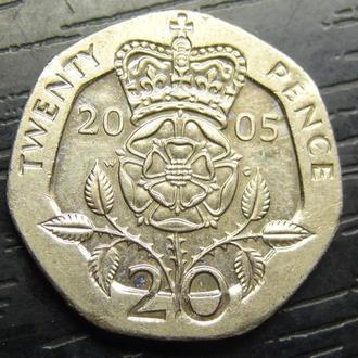 20 пенсів 2005 Британія