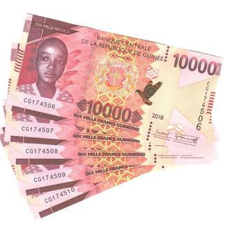 Гвинея 10000 франков 2018 года в UNC