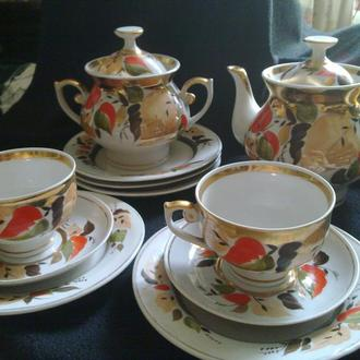 Сервиз чайный Довбиш 70-е годы