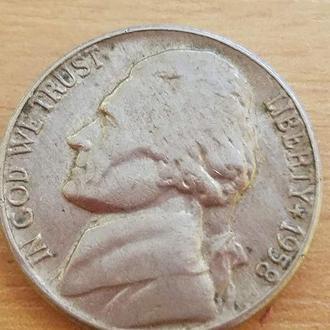 5 центов 1958 года