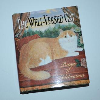 миниатюрная книга на английском the well-ver sed cat poems of celebration running press Phila delpha